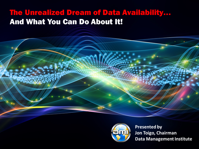 The Unrealized Dream of Data Availability and What You Can Do About It