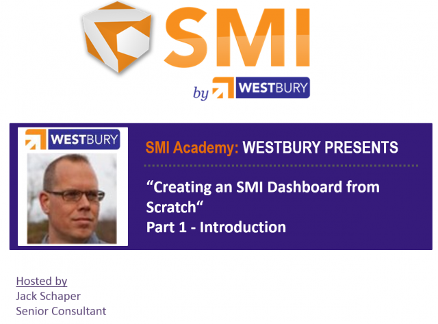 SMI Academy Dashboarding Pt. 1 Introduction