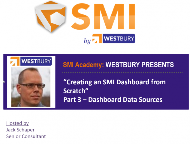 SMI Academy Dashboarding Pt. 3 - Dashboard Data Sources