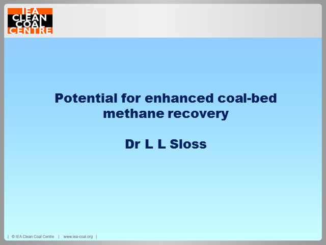 Enhanced coal bed methane recovery