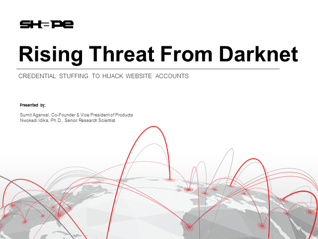 Rising Threat from the Darknet: Credential Stuffing to Hijack Website Accounts
