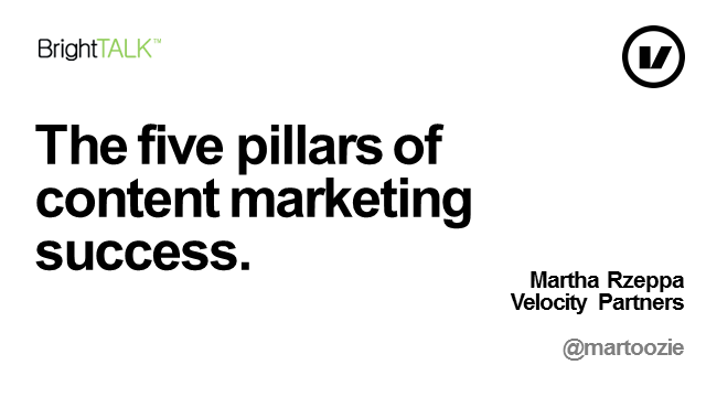 The Five Pillars of Content Marketing Success