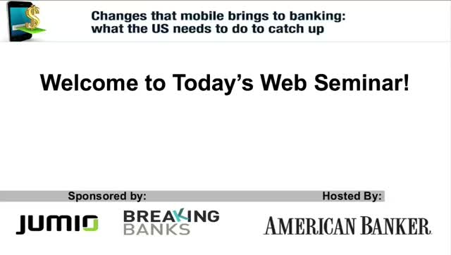 Changes that mobile brings to banking: what the US needs to do to catch up