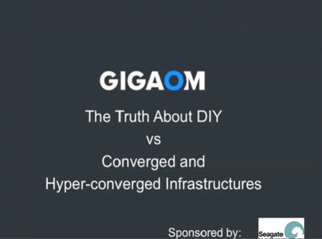 The Truth About DIY Vs. Converged and Hyper-Converged Infrastructure