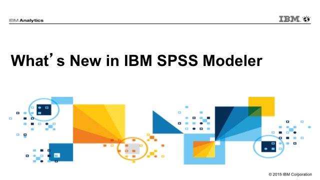 What's New in IBM SPSS Modeler