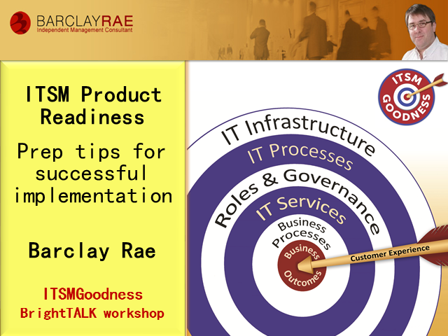 ITSM Product Readiness - Prepare for success