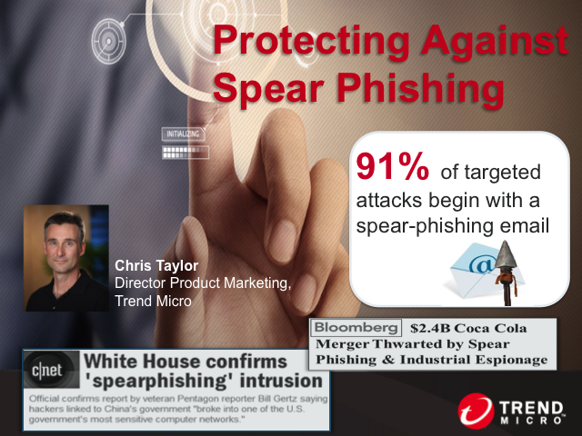 Protecting Against Spear Phishing