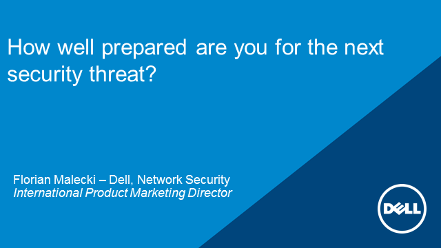 How well prepared are you for the next security threat?