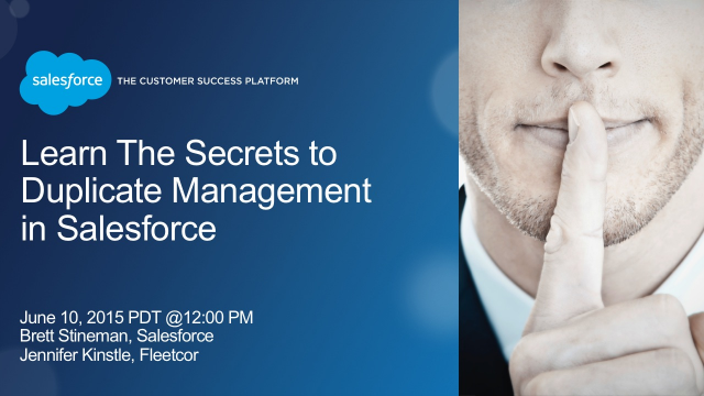 Learn the Secrets to Duplicate Management in Salesforce