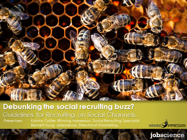Debunking the Social Recruiting Buzz — Tips & Guidelines