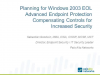 Everything you need to know about Windows 2003 End of Support