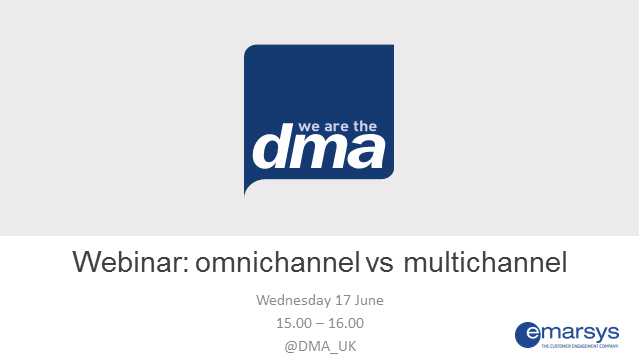 Webinar: omnichannel vs multichannel