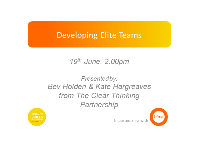 Developing Elite Teams
