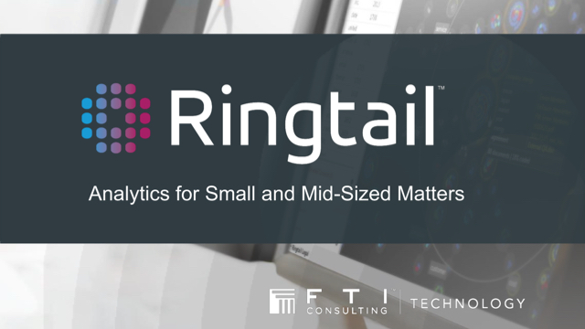 "EDRM webinar, ""Using Ringtail's Visual Analytics on Small to Midsized Matters"""