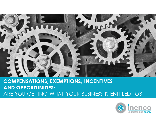 Compensations, exemptions, incentives and opportunities: are you getting......
