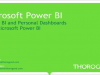 Mobile BI and Personal Dashboards with Microsoft Power BI