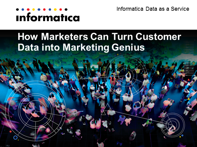 How Marketers Can Turn Customer Data into Marketing Genius