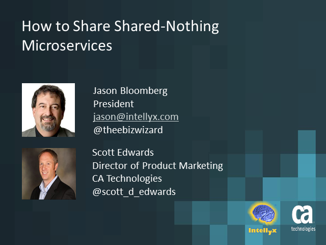 Microservices Virtualization: How to Share Shared-Nothing Microservices