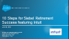 10 Steps to Successfully Extend Siebel Featuring Intuit