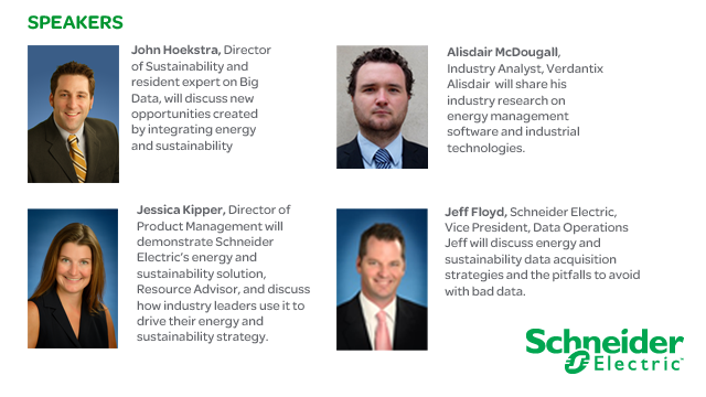 Harnessing your energy & sustainability data to save money & reduce consumption