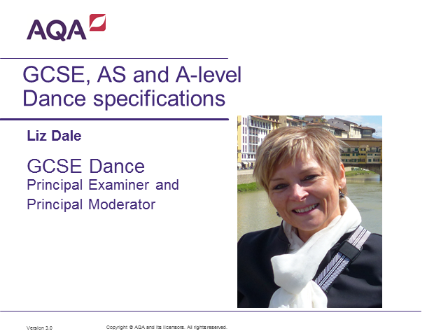 Get to know your GCSE, AS and A-level Dance specifications