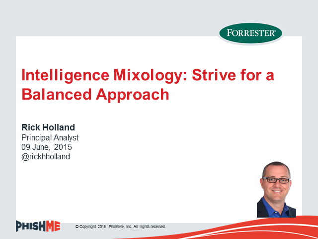 Intelligence Mixology: Strive for a Balanced Approach