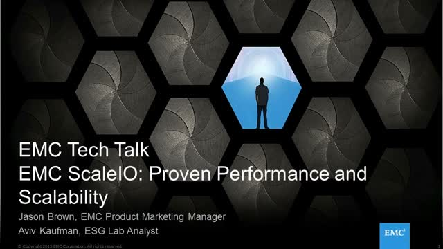 EMC ScaleIO: Proven Performance and Scalability