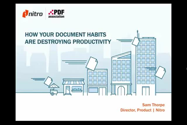 How Your Document Habits are Destroying Productivity