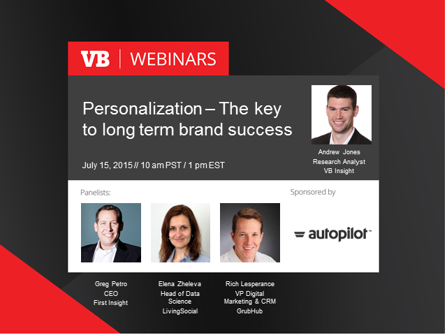 Personalization - The key to long term brand success