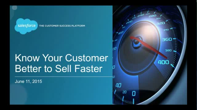 Know Your Customers Better to Sell Faster