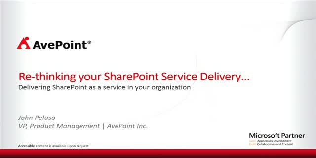 "Do you offer ""SharePoint as a Service"" or ""SharePoint as a Platform""?"