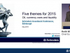 SIC 2015 - Five themes for 2015 - Keith Wade