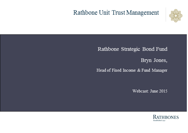 Rathbone Strategic Bond Fund