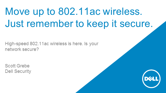Move up to 802.11ac wireless. Just remember to keep it secure