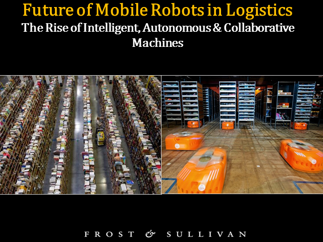 Future of Robots in Logistics: Unmanned Guided Vehicles and Drones