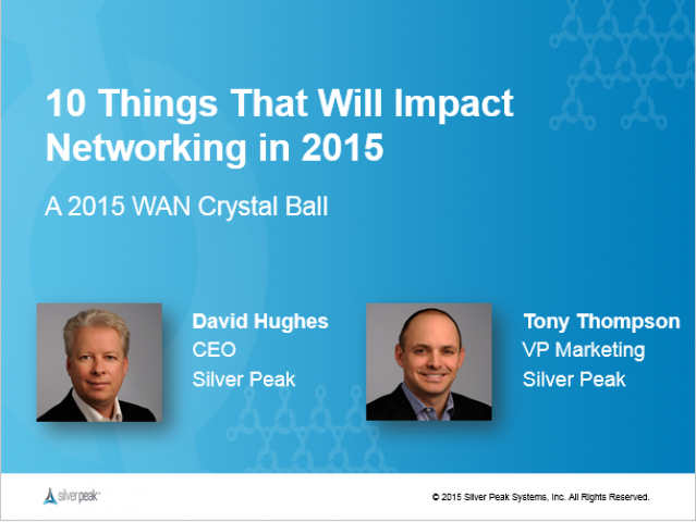 10 Things That Will Impact Networking in 2015