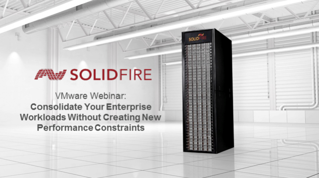 Consolidate Enterprise Workloads Without Creating New Performance Constraints