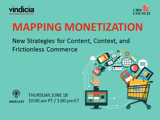 Mapping Monetization: Strategies for Content, Context, and Frictionless Commerce