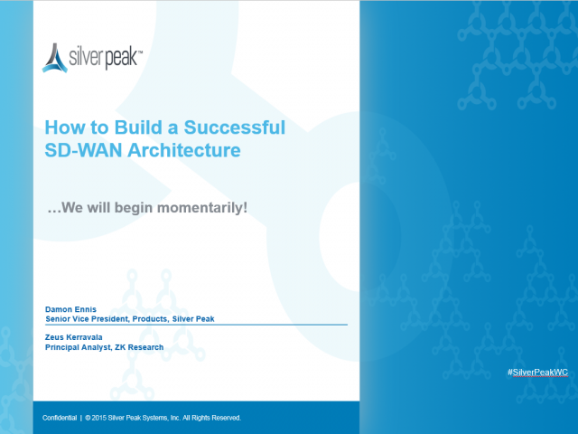 How to Build a Successful SD-WAN Architecture