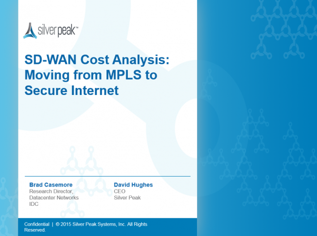 SD-WAN Cost Analysis: Moving from MPLS to Secure Internet