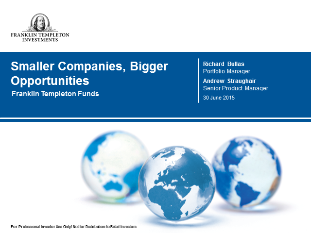 Smaller companies, bigger opportunities