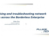 Localising and troubleshooting network issues across the Borderless Enterprise