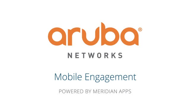 Aruba Networks - The Meridian-Powered App for the Portland Intl. Airport