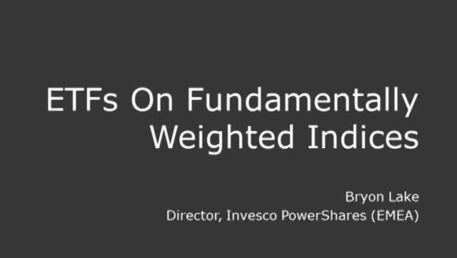 FTSE Insight: Guide to ETFs - ETFs on fundamental indices