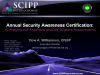 Annual Security Awareness Certification