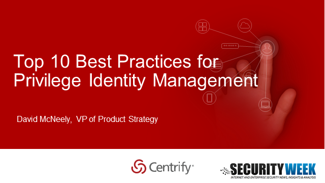 Top 10 Best Practices for Privileged Identity Management