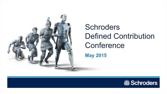 Delivering an income - Defined Contribution Conference 2015