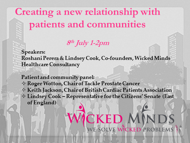 Creating a new relationship with patients and communities