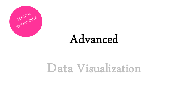 Advanced Data Visualization