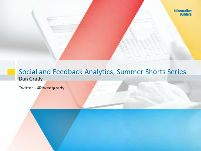 Social and Feedback Analytics